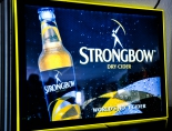 Strongbow Dry Cider LED Leuchtreklame Dry Cider