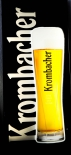 Krombacher Bier Neon Leuchtreklame Bierglas Display, Leuchtwerbung
