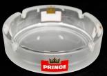 Prince Denmark Zigaretten Aschenbecher, groß, weiß satiniert