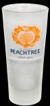 Peachtree Longdrinkglas, 2cl/4cl gerfrostet satiniert