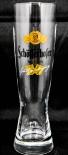Schöfferhofer Bier Glas / Gläser, Weissbier / Weizenbier Glas 0,3l (orange)