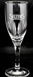 Selters Mineralwasser Wasserglas, Stielglas 0,15l