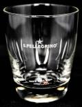 San Pellegrino Wasserglas, Foodie Trinkglas, 0,15l