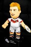 Original DFB Weltmeister Plüsch-Spielerfigur Mario Götze