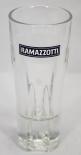 Ramazzotti Gläser Glas Likör, 2cl/4cl Glas Leben, Lieben, Lachen weiß