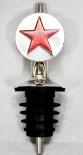 Parliament Vodka, Flaschenausgießer, Ausgießer Sternen Logo