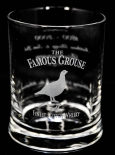 The Famous Grouse Whiskey, Whisky Tumbler 200 Jahre Editions-Glas