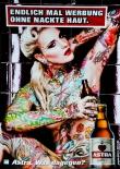 Astra Bier Brauerei A2 Poster Endlich mal Werbung ohne nackte Haut Kiez, Bild