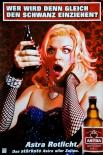Astra Bier A2 Poster Wer wird denn gleich den Schwanz einziehen Kiez