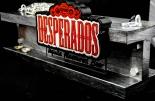Desperados Bier, Der neue Cap Catcher als Eisenträger, LED Leuchtreklame