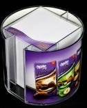 Milka Amavel Schokolade, Zettelbox, Notitzblock, Stiftehalter, Köcher