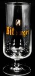 Bitburger Brauerei, Bierglas, Pokal, 0,4 Ritzenhoff