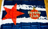 Original Havana Club, Rum, Stoffbanner Stern, 100 cm x 70 cm