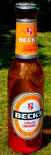 Becks Bier Brauerei, XXL aufblasbare Flasche, Chilled Orange