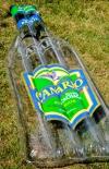 Canario Cachaca Luftmatratze, Flasche, transparent