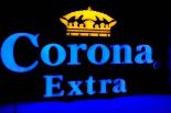 Corona Extra Bier LED Leuchtreklame, Neonleuchte, Leuchtwerbung