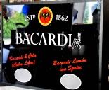 Bacardi, Rum, seltene Neon Leuchtreklame in Alugehäuse, Ausstellungsstück