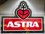 Astra Bier, LED Leuchtreklame, dimmbar, Neu OVP, St Pauli KIEZ Hamburg