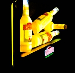 Desperados Bier LED Leuchtreklame, Bottle Lamp, Leuchtwerbung, sehr selten...