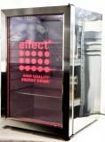 Effect Energy, Voll Edelstahl LED - Gastro Kühlschrank, Frigoo Displaycooler SC68