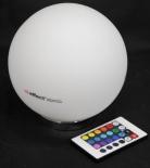 Effect Energy, LED, RGB, Leuchtreklame Light Ball, Kugel, versch. Funkt.
