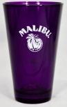 Malibu Rum, Longdrinkglas, Cocktailglas, Sammelglas 5cl, lila