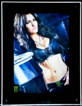 Monster Energy, LED Leuchtreklame, Display, Poster, Acryl