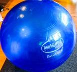 Kraft Food Philadephia Balance Gymnastikball Power Ball, blau