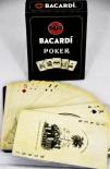 Bacardi Rum, Kartenspiel-Poker Editon, black, inkl. 4 Rezepten