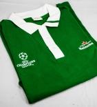 Heineken Bier, Polo-Shirt Kragen, grün, Old School Look, Champions League, Gr.XL