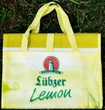 Lübzer Bier Strandmatte Lemon in Tragetasche ca. 182 x 70cm