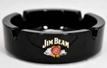 Jim Beam Whisky Glas Aschenbecher, schwarze Ausführung