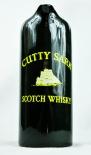 Cutty Sark Scotch Whisky, Pitcher, Wasser Karaffe, dunkelgrün, große Ausführung
