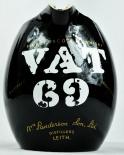 VAT 69 Whisky, Pitcher, Wasser Karaffe, schwarz, große Ausführung