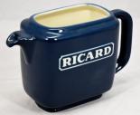 Pernod Ricard Likör, Pitcher, Wasser Karaffe, hellblau, seltene Ausführung