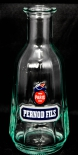 Pernod Ricard Likör, Pitcher, Wasser Karaffe, klar, seltene Ausführung