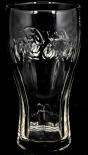 Coca Cola Glas / Gläser Konturglas 0,4l, Logo waagerecht