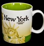 Starbucks Kaffeebecher, Citybecher, City Mug, New York SKU