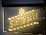 San Miguel Bier / Beer / Cerveza, LED Leuchtreklame, Neonreklame, zum Aufhängen