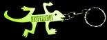 Desperados Bier, Flaschenöffner, Schlüsselanhänger Gecko