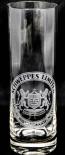 Schweppes Vodka Lemon Longdrinkglas, Since 1783 Wappen, Limitiertes 8 Eck Glas