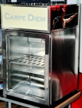 Carpe Diem Kombucha , Edelstahl Mini - Kühlschrank, AKE GTE 45
