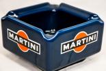 Martini Porzellan, Aschenbecher 70er Jahre, dunkelblau, Fa. Böckling