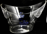 Alpha Noble Vodka, Acryl Eiswürfelkühler, Eiswürfelbehälter, Flaschenkühler.