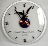 Fernet Branca Wanduhr aus Acryl, Uhr, Design Uhr