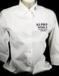 Alpha Noble, Vodka, Damenbluse 3/4 Arm, weiß, Gr.M, NEU