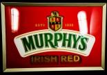 Murphys Bier, LED Leuchtreklame Irish Red, 49 x 35cm, animierend