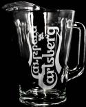 Carlsberg Bier, Glaskaraffe, Pitcher, 1,5l Carlsberg