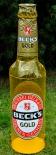 Becks Bier Brauerei, XXL aufblasbare Flasche, Gold