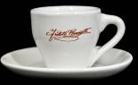 Ramazzotti Likör, Espresso Set, Tasse 5,7 x 6,3 und Untertasse